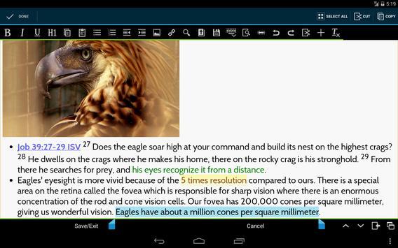 MySword Bible screenshot 11
