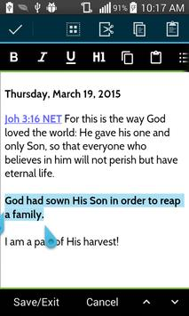 MySword Bible screenshot 5