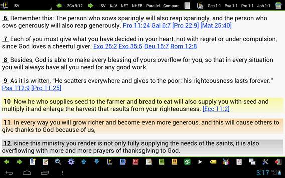 MySword Bible screenshot 8