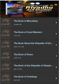 Kitab Riyad As Salihin (English) poster