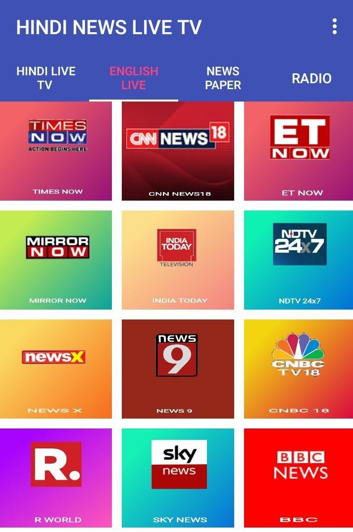 Hindi News Live Tv For Android Apk Download