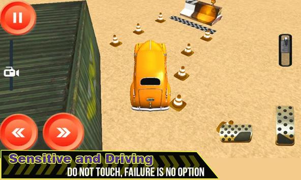 4x4 EXtreme Car parking 3D simulator 2019 poster