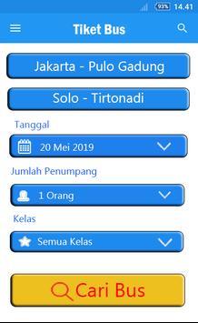 Tiket Bus Gratis - Trik & Tips screenshot 1