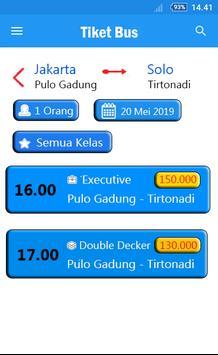 Tiket Bus Gratis - Trik & Tips screenshot 2
