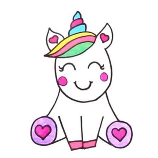 كيفية رسم لطيف يونيكورن For Android Apk Download