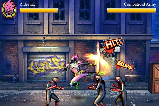 Henshin Fighter : Rider Mighty X Climax 3D screenshot 1