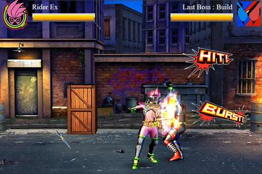 Henshin Fighter : Rider Mighty X Climax 3D screenshot 2