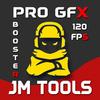 ikon JM Tools - GFX Pro For PUBG 120FPS & Game Booster