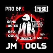 ikon JM Tools - GFX Pro For PUBG 120FPS & Game Booster