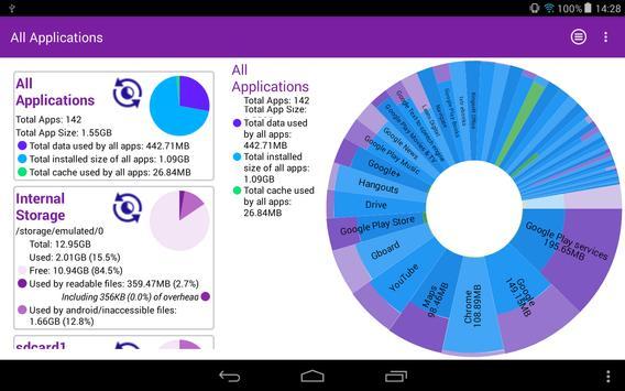 Storage Analyser स्क्रीनशॉट 7