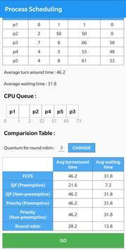 Process Scheduling screenshot 1
