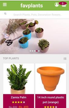 Favplants- Buy online plants & plants accessories screenshot 1
