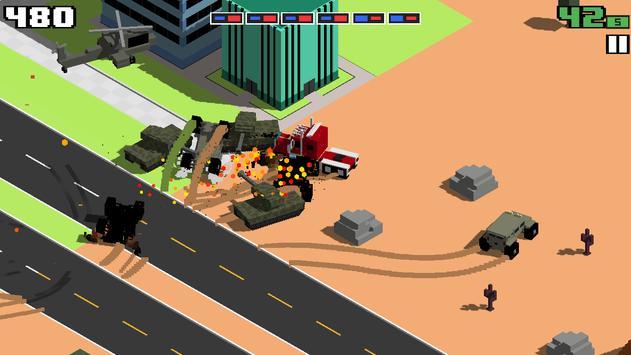 Smashy Road: Wanted screenshot 3