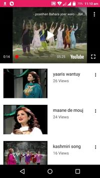 Kashmiri Songs -💃 Kashmiri Videos, Bhajan, Comedy screenshot 2
