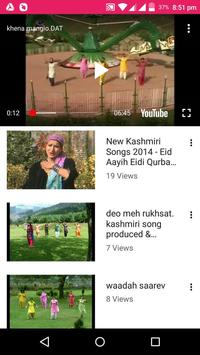 Kashmiri Songs -💃 Kashmiri Videos, Bhajan, Comedy screenshot 7