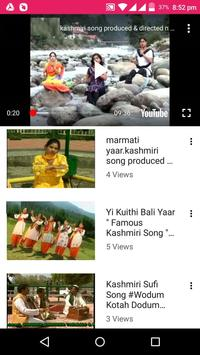 Kashmiri Songs -💃 Kashmiri Videos, Bhajan, Comedy screenshot 6