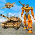 Flying Air Robot Transform Tank Robot Battle War