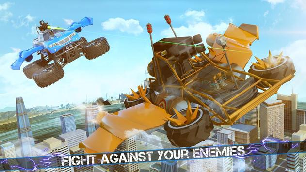 Flying Robot Monster Truck Battle 2019 screenshot 2