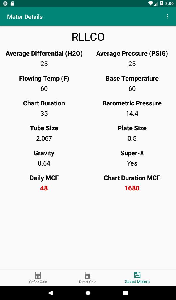 Orifice Flow Rate Calculator for Android - APK Download
