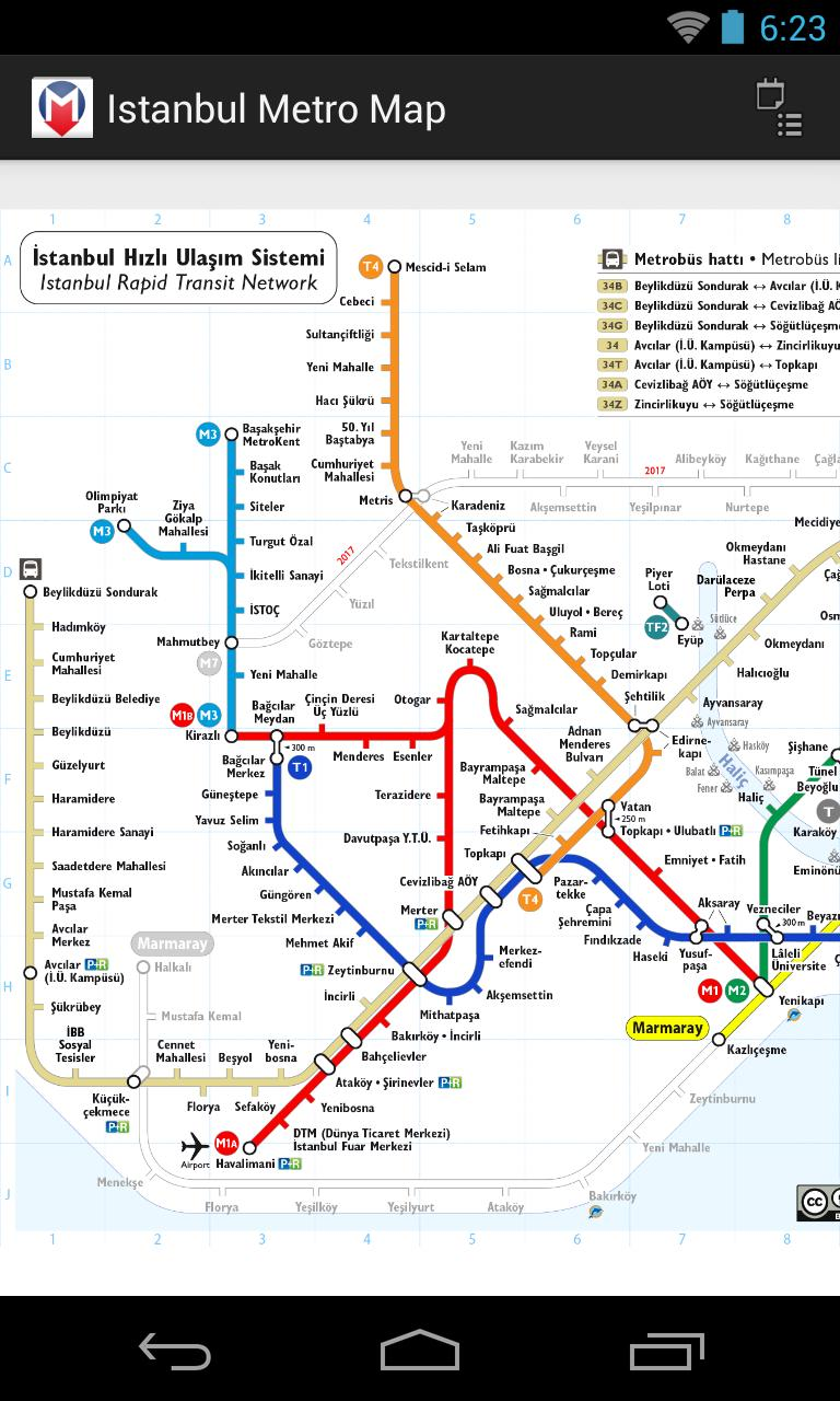Istanbul Subway Map 2015.Istanbul Metro Map Free For Android Apk Download
