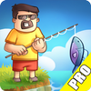Fish Farm PRO - idle fish catching game simgesi