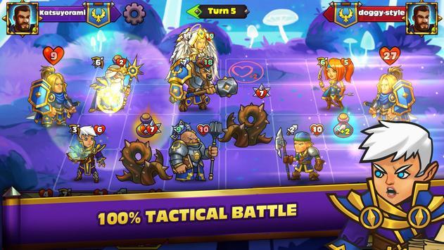 Heroes Of Magic - Card Battle ảnh chụp màn hình 4