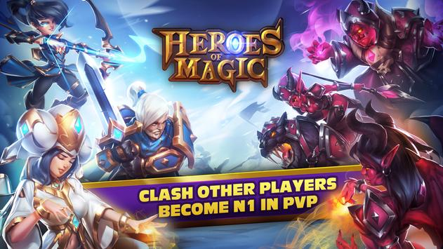 Heroes Of Magic - Card Battle 截图 11