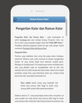 Rumus Fisika SMP screenshot 1