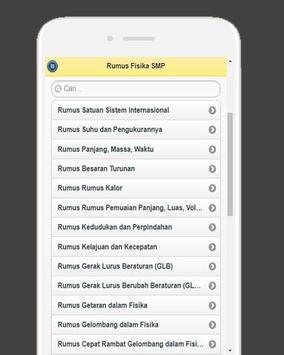 Rumus Fisika SMP screenshot 4