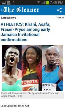Jamaica Gleaner screenshot 3