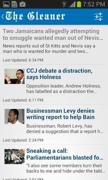Jamaica Gleaner screenshot 4