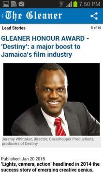Jamaica Gleaner screenshot 5