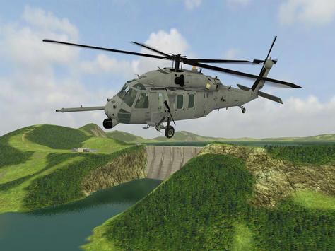 Helicopter Sim Flight Simulator Air Cavalry Pilot screenshot 2
