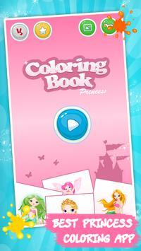 Kids coloring book: Princess screenshot 3