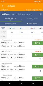 Airfare Compare: Flight finder screenshot 5
