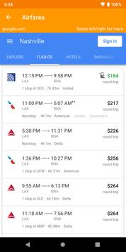 Airfare Compare: Flight finder screenshot 2