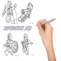 How To Draw Superheroes Lego