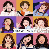 How To Draw TWICE Member icon