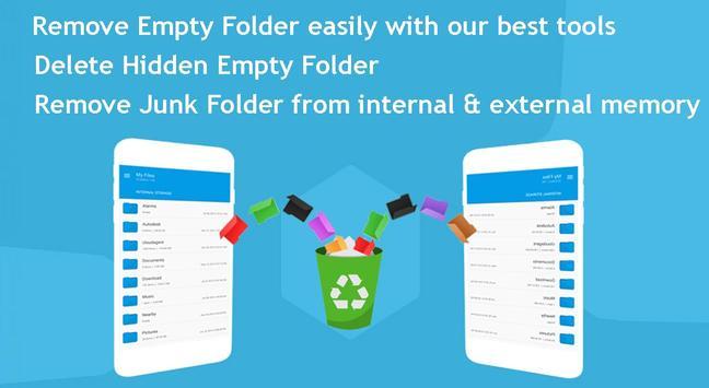 Delete Empty Folder - Empty Folder Cleaner screenshot 13