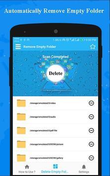 Delete Empty Folder - Empty Folder Cleaner screenshot 2