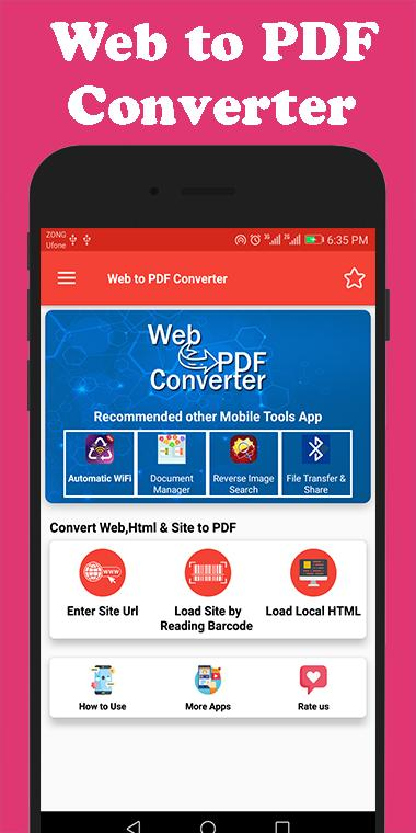 Web to Pdf Converter for Android - APK Download