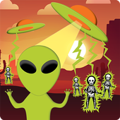 Storm Area 51: Help The Aliens! [Tap Tap] icon