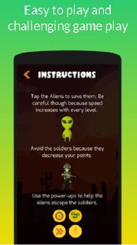 Storm Area 51: Help The Aliens! [Tap Tap] screenshot 1