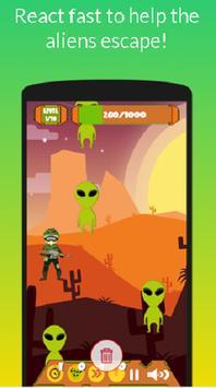 Storm Area 51: Help The Aliens! [Tap Tap] screenshot 2