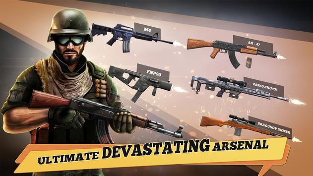 Delta Special Ops: War - Online gun shooting games screenshot 1