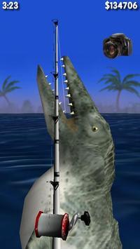 Big Dino Fishing 3D Lite 海报