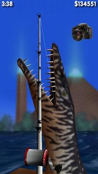 Big Dino Fishing 3D Lite 截图 1