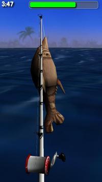 Big Dino Fishing 3D Lite 截图 2
