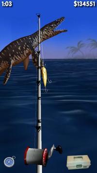 Big Dino Fishing 3D Lite 截图 5