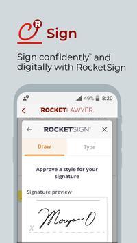 Rocket Lawyer captura de pantalla 11